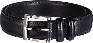 Florsheim Men's Pebble Grain 32mm Leather Belt