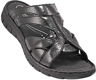 071-1965 Josef Seibel Ladies Sandals Nappa Leather Black 37