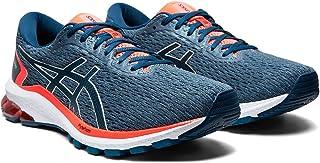 ASICS Men's GT-1000 9 Grey Floss/MAKO Blue Running Shoe-10 UK (1011A770.400)
