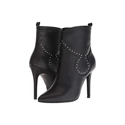 Charles by Charles David Plot Ankle Bootie (Black Smooth) Women