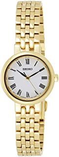 SEIKO Women's Quartz Watch, Analog Display and Stainless Steel Strap SRZ464P1