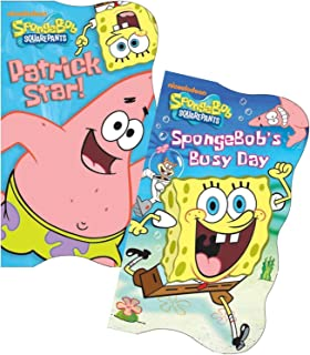 SpongeBob SquarePants Shaped Board Books (Set of 2)