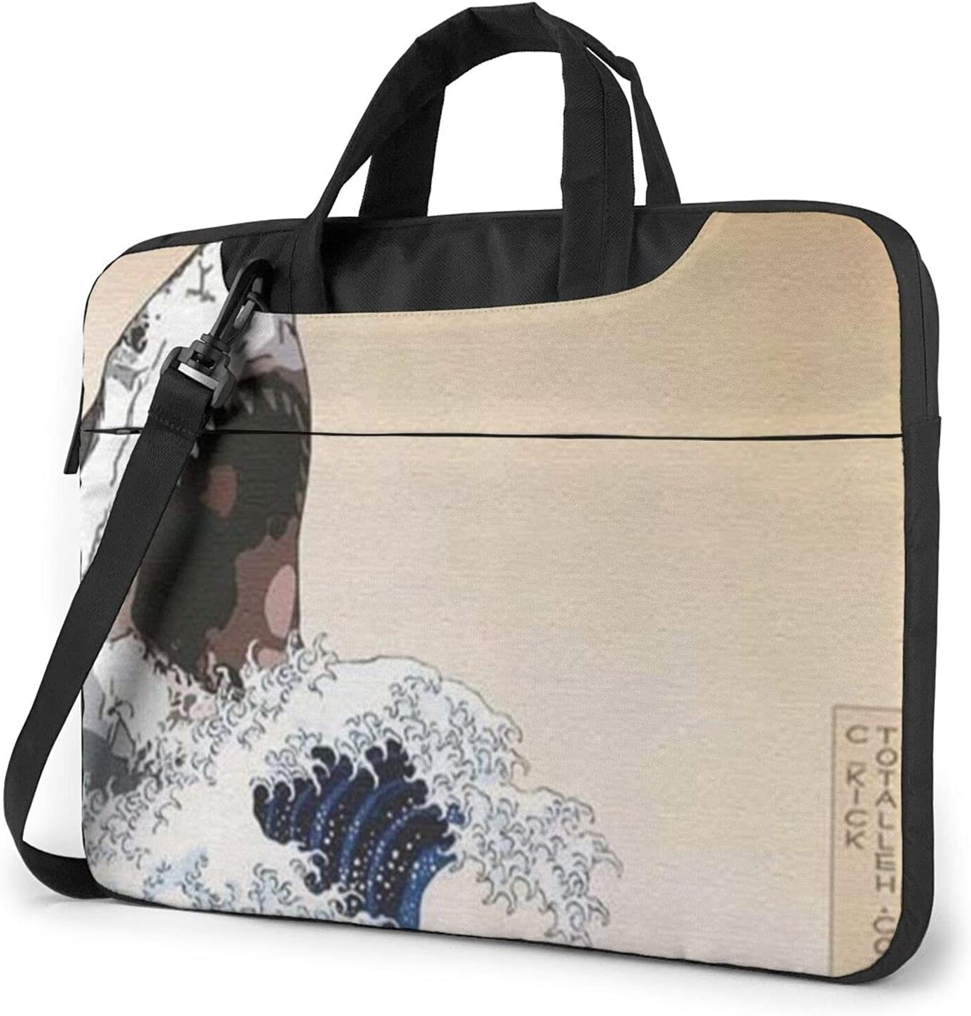 Japanese low-pricing Style Shark Wave Classic Slim Max 51% OFF Crossbody Briefcase Shou