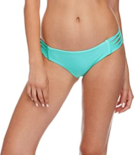Body Glove Women's Smoothies Ruby Solid Bikini Bottom Swimsuit