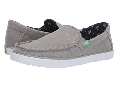 Sanuk Sideline Linen (Grey) Men