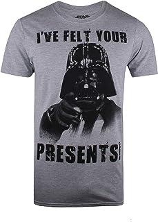 Star Wars Vader Felt Your Presents Camiseta para Hombre
