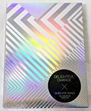 Shin Hye Sung SHINHWA - 10th Anniversary Making DVD [DELIGHTFUL CHANGE] 2DVD + 52p Photobook + 3 Photocards