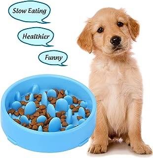 XZQTIVE Slow Feeder Bowl for Dog, Interactive Bloat Stop Dog Bowl Fun Feeder Non-Slip
