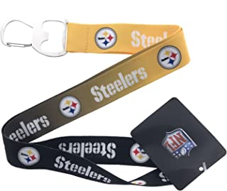 Team Sports America C307806 Pittsburgh Steelers Bottle Opener Silver