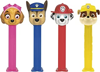 Pez Candy Dispensers - Paw Patrol Dispenser Set: Chase, Skye, Marshall and Rubble (4 Dispenser Set)