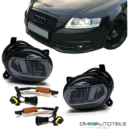 Dm Autoteile Set Klarglas Led Nebelscheinwerfer Smoke Passt Für A4 B8 07 11 A6 4f 04 08 Q5 8r Auto