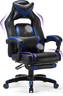 Sponsored Ad - Kealive Gaming Chair Reclining Racing Chair, Ergonomic Office Chair with High Back and PU Leather, Adjustab...