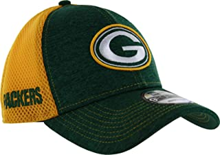 9296e9e2b1e New Era Green Bay Packers 9FORTY Surger Stitcher Adjustable Hat