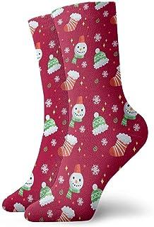 Luxury Calcetines de Deporte Merry Christmas Unisex Funny Art 3D Print Casual Crew Socks Athletic Crew Socks