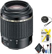 Tamron Zoom Normal-Telephoto AF 55-200mm f/4-5.6 Di-II LD Autofocus Lens for Nikon Digital SLR for Nikon F Mount + Accessories (International Model)