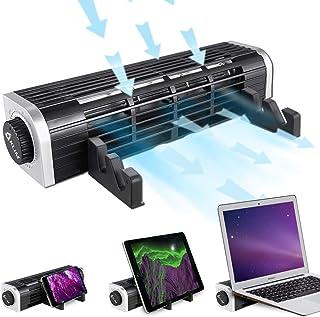 KLIM™ Zephyr + Súper Ventilador de Triple función + Nuevo 2020 + Silencioso y Efectivo + Diseño Elegante + Refrigeración innovadora de Flujo Cruzado a 3000 RPM