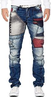 Cipo & Baxx Jeans Uomo Pantaloni Speciale Design Stravagante