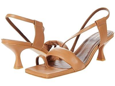 ALOHAS Asymmetric Straps (Camel Leather) Women