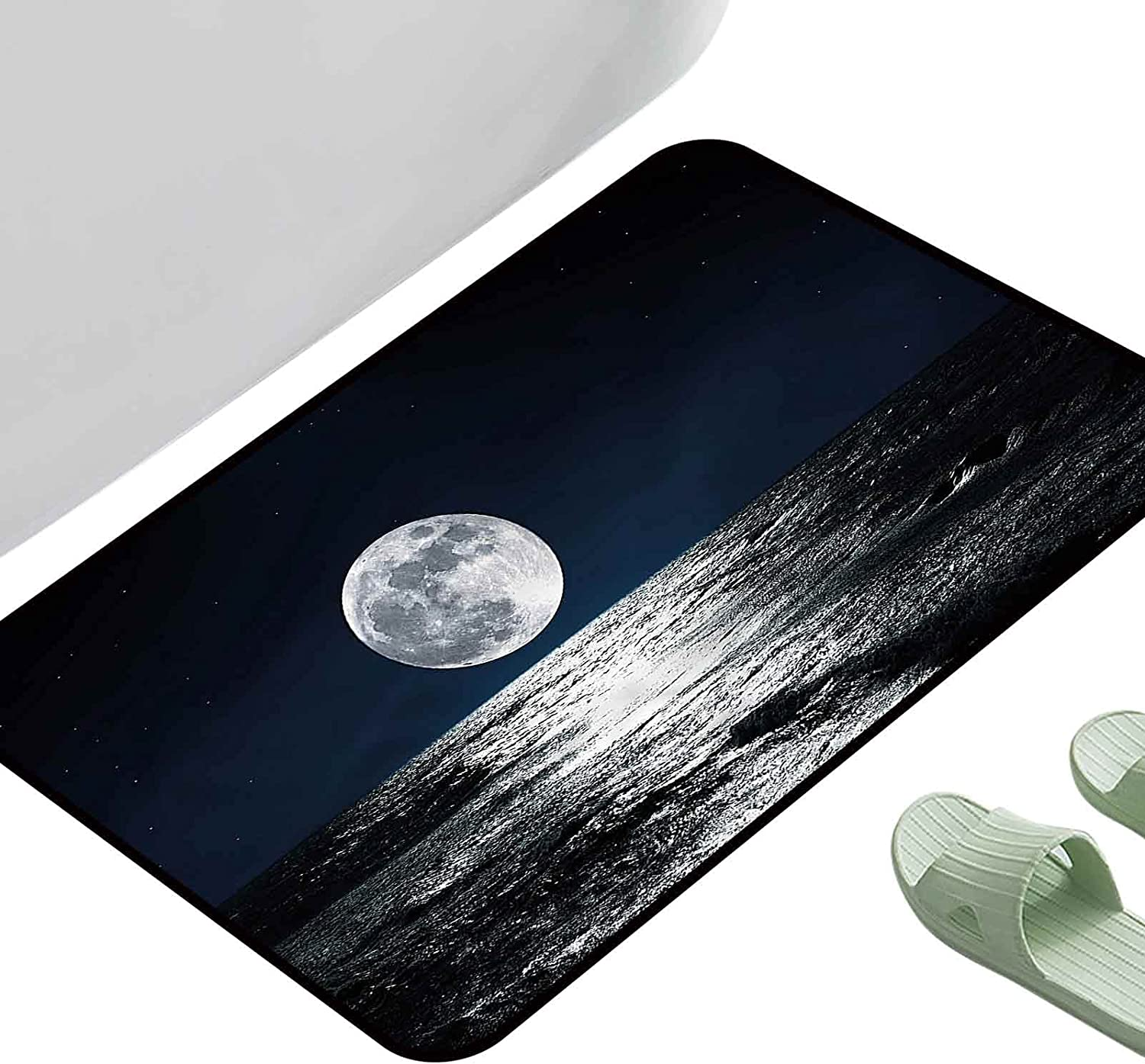 Kitchen Purchase Room Floor Mat Rug Moon Limited time cheap sale Ethereal Drawing Theme Colorful