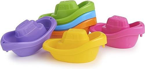 Munchkin Bath Toy, Little Boat Train, 6 Count
