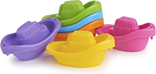 Munchkin Bath Toy, Little Boat Train, 6 Count