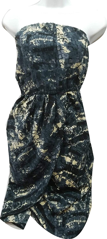 Bar III Womens Strapless Sheath Dress S