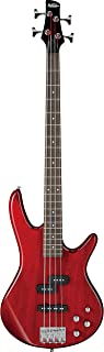 Best Ibanez GSR 4 String Bass Guitar, Right Handed, Transparent Red (GSR200TR) Review