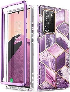 i Blason Glitzer Hülle für Samsung Galaxy Note 20 Ultra (6.9') 5G Handyhülle Bumper Case Glänzend Schutzhülle Cover [Cosmo] OHNE Displayschutz 2020 Ausgabe, Lila