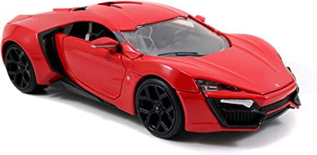 Jada Toys Fast & Furious Lykan Hypersport Diecast Vehicle, 1: 24 Scale Red