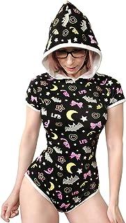 LittleForBig Adult Baby Diaper Lover (ABDL) Onesie-Trick or Treat Night-Glow