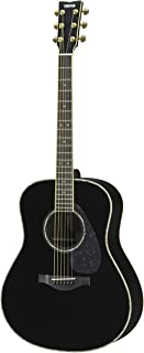 Yamaha L-Series LL16R Solid Rosewood  Acoustic-Electric Guitar w/ Case - Black, Abalone Inlay