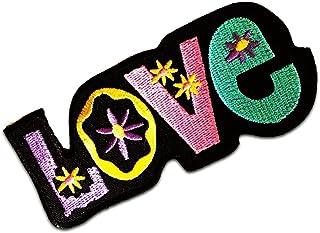 Parches - Love amor - varios colores seleccionables - 11 x 8.5 cm - by catch-the-patch® termoadhesivos bordados aplique pa...