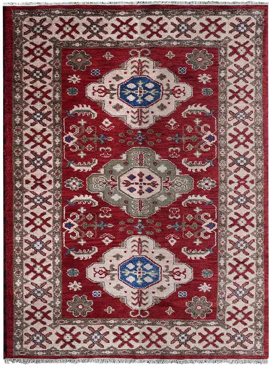 Rugsotic Carpets Hand Knotted Afghan Wool 9'x12' free shipping Silk Area free and R