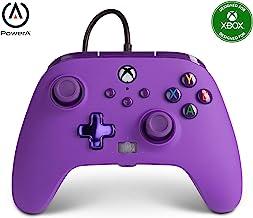 Controller Cablato Avanzato PowerA Per Xbox Series X|S - Viola Imperiale - Not Machine Specific