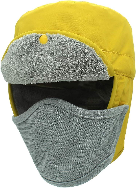 Ruiyue Fisherman Cap, Autumn Winter Waterproof Rain Snow Predection Warm Hat Sunscreen AntiUV for Women Men (color   2, Size   L)