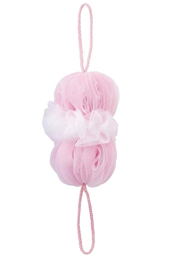 影響する細胞接続マーナ(MARNA) 泡工場 背中も洗えるシャボンボール ピンク