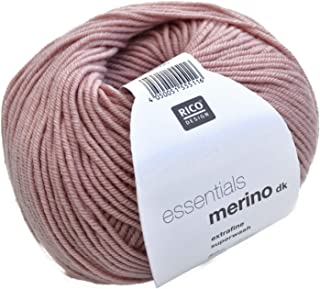 Rico Essentials Merino DK 16 Pearl Pink