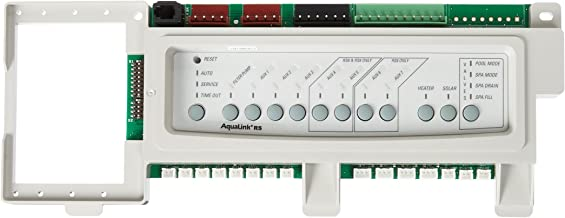 zodiac pool control panel