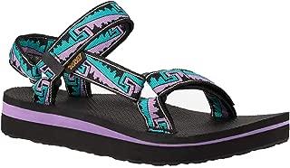 Teva Women's MIDFORM Universal Open Toe Fashion Sandals (Women), Black