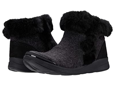 Bzees Iris (Black Faux Wool) Women