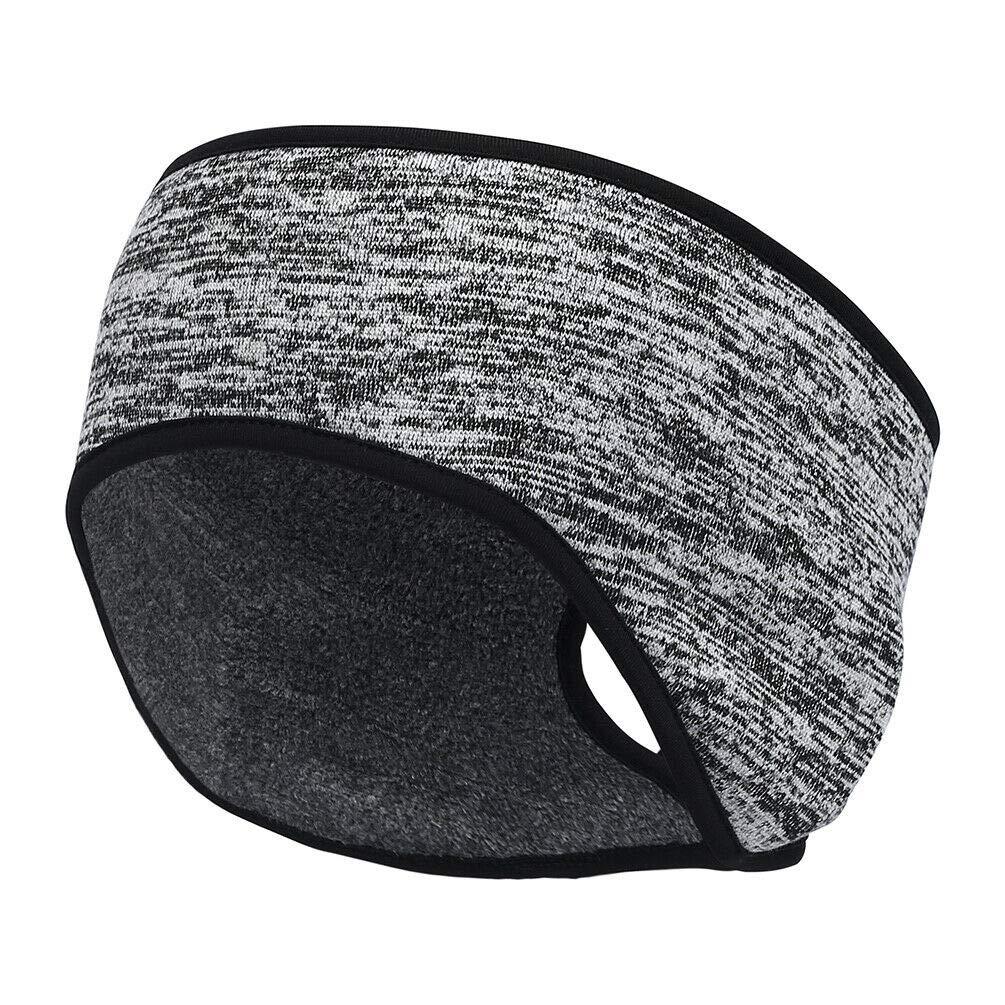 Women's Ponytail Ear Warmer Head Wrap Yoga Hair Band Fleece Headband #RP113 (A1)
