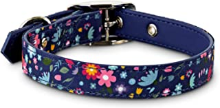 Bond & Co. Blue Blossom Dog Collar