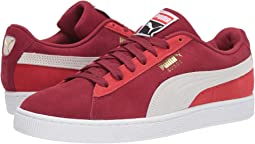 Rhubarb/Puma White/High Risk Red