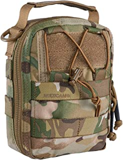 IDOGEAR Tactical EMT Pouch MOLLE Pouch Medical Utility Bag Medical First Aid IFAK Pouches 500D Nylon