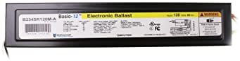 Universal Lighting Technologies B234SR120M-A000I Electronic Ballast, Fluorescent, T12, 2-Lamp, 120V, Black