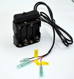 ETC カーナビ カーセキュリティー スイツチ付き バッテリーボックス 単三8本用 電池ボックス