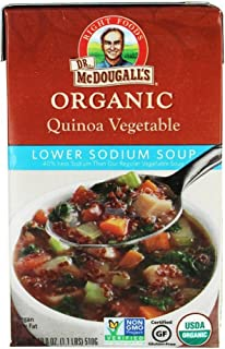 Dr. McDougall's Organic Lower Sodium Vegetable Soup - 18 OZ - 6 pk