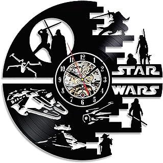 Decorativa Star Wars Handmade Vinilo Pared Reloj