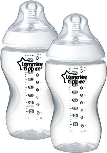 Tommee Tippee Vicino Alla Natura Baby bottiglia di latte Tettarella flusso veloce sfiato CONFEZIONE DOPPIA