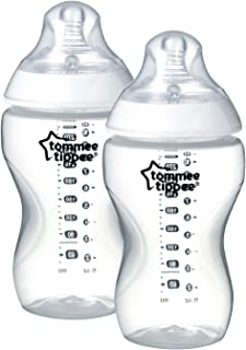Tommee Tippee Closer To Nature Feeding Bottles 2X 340Ml, White